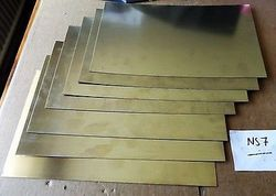Nickel Silver Sheet 0.3mm / German Silver / Nickel Silver