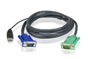 Aten 2L-5202U 1.8M USB KVM Cable with 3 in 1 SPHD