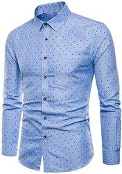 Linen Collar Neck Svaraati Men's Causal Shirt