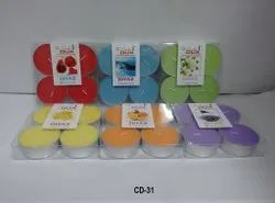 Cd-31 T-Light Candles 4 Pc