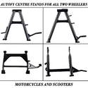Autofy Center Stand For All Bikes