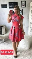 Digital Printed One Piece Dress