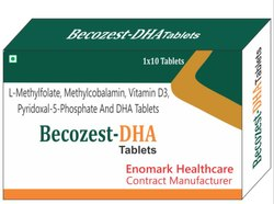 L-Methylfolate Methylcobalamin, Vitamin D3, Pyridoxal 5-Phosphate