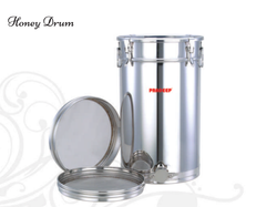Stainless Steel Honey Storage Drum, For Home, Hotel, Capacity: 30 - 200 Ltr