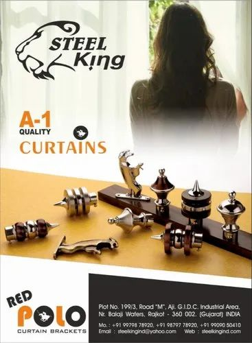 Stainless Steel Decorative Curtain Rod