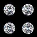 Certified DEF VVS Round Cut Moissanite Diamond