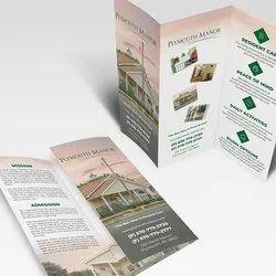 Laminated Paper Broucher