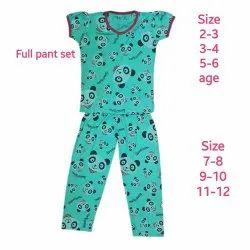 Girls Pajama Set