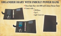 Diary With Powerbank