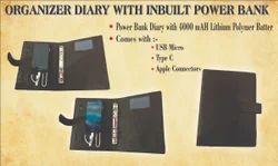 Diary With Powerbank