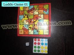 Luddo Game Promo Toy