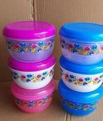 Plastic Round Container(  creta)2500ml 3500ml 5000ml