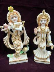 Marble Radhe Krishna Idol