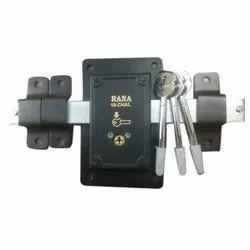 Main Door Knob / Cylinder Rana Iron Shutter Lock, For Security