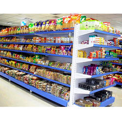 6 Shelves Supermarket Display Rack