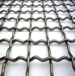 Banaraswala Metal Craft Stainless steel wire301 Crimped Wire Mesh, For Industrial