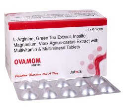 L-Arginine, Green Tea Extract, Inositol, Vitex Agnus-Castus Extract With Multivitamins Tab