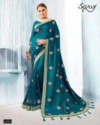 Stylish Fancy Silk Saree