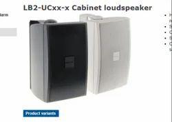Black/white LB2-Ucxx-x Cabinet Loudspeaker