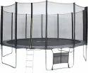 10英尺蹦床带安全网