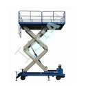 Scissor Lift with Safety Bellows