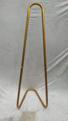 Brass Finish Banner Stand