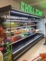 Open Display Chiller for Dairy Products
