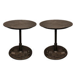 Round Industrial Table industrial bar Furniture