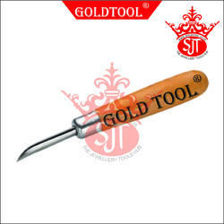 Gold Tool Curved Burnisher