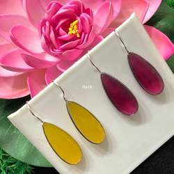 COLOR STONE EARING