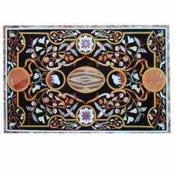 Pietra Dura Handmade Stone Inlaid Art Table Top