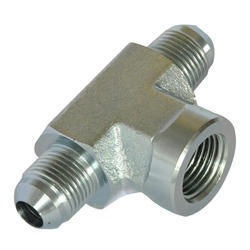 Mild Steel Male Hydraulic Tee Adaptor, Application Hydraulic Pipe, Size 3/4 Inch