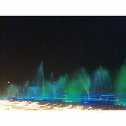 Green & Blue Musical Water Fountain