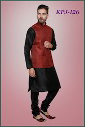 Jacket with Kurta Pyjamas For Eid