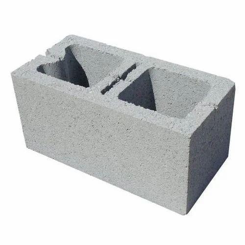 Concrete Hollow Block कंक्रीट के खोखले ब्लॉक कंक्रीट
