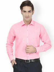 Full Sleeve Mens Solid Formal Shirts