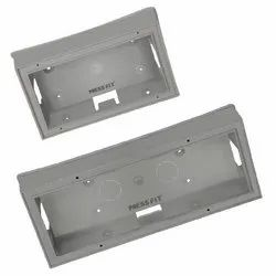 Press Fit Charms PVC Concealed Switch Board