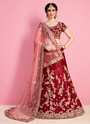 Sequins Work Lehenga Choli