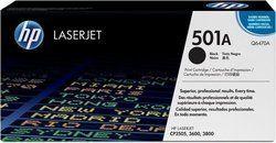 HP Q6470A 501A Black Toner Cartridge