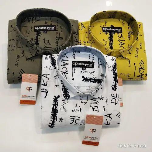 Printed Casual Allan Peter Shirts