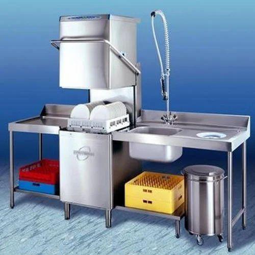 Industrial Kitchen Dishwasher: IFB/WINTER HALTER/MEIKO Industrial / Commercial Hood Type