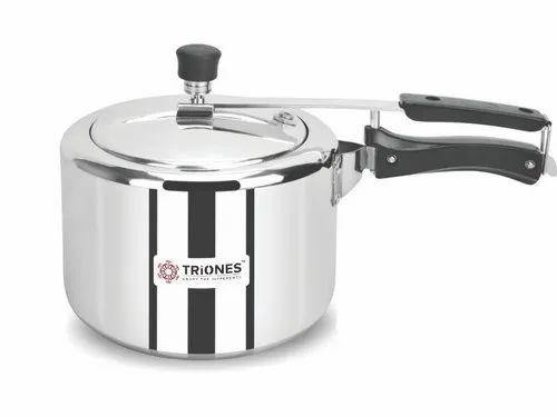 Triones Aluminum Innerlid Pressure Cooker 3 Ltr