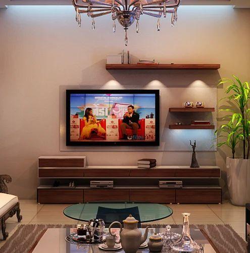 Acrylic TV Unit