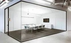 45mm x 20mm Demountable Glass Partition