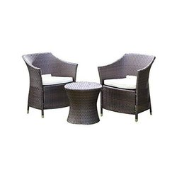 Universal Furniture Table and 2 Sofa Chairs with Cushion