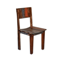 Reclaimed Wood,Wooden Modern Living Room Wooden Chair, For Hotel