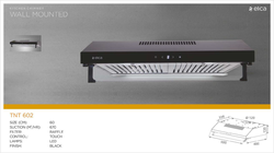 Elica 602 Touch Bk With Carbon Filters Straight Line Chimney, Size: 60 Cm
