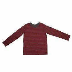 Casual Wear Designer Boys Round Neck Cotton T-Shirt