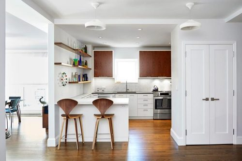 Modern Peninsula Modular Kitchen