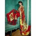 Ladies Multicolor Saree